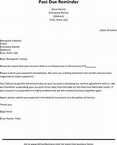 Past Due Rent Letter Download Sample Past Due Letter For Free Formtemplate