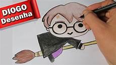 desenhando harry potter kawaii desenho fofinho 1