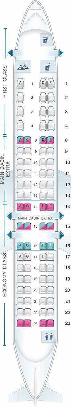 Lot Airlines Seating Chart Seat Map American Airlines Crj 900 V1 American Airlines