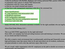 How To Post Resume On Craigslist How To Respond To A Job Listing On Craigslist 11 Steps