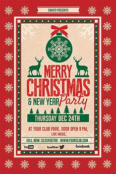 Work Christmas Party Flyer Christmas Party Flyer On Behance