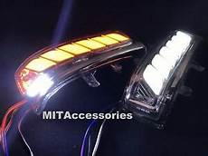 Toyota Highlander Puddle Lights Mit Toyota Highlander 2007 2013 Led 4 In1 Turn Signal