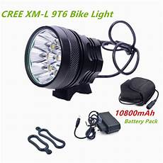 Electron Led Bike Lights Bicycle Lights Bycicle Light 9 Led 12000lm Rechargeable