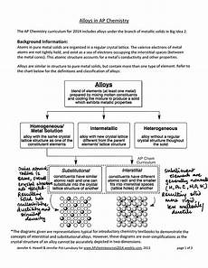 Solutions Worksheet 1 Classification Of Matter Types Of