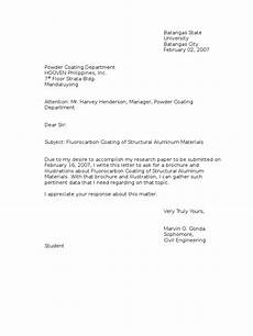 Inquiry Letter Template Example Letter Of Inquiry
