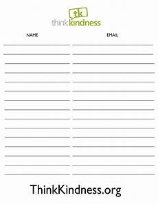 Email List Signup Sheet Email Opt In Sign Up Sheet Google Search Sign In Sheet
