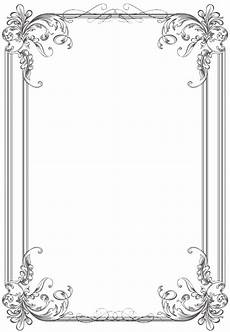 Wedding Page Border Free Black Clip Art Borders And Frames Weddings Custom