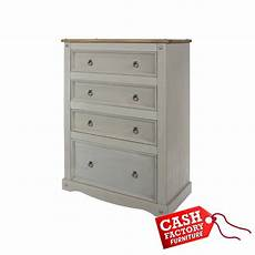 corona grey 4 drawer chest factory furniture