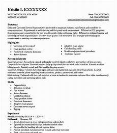 High End Retail Resume Retail Associate Objectives Resume Objective Livecareer