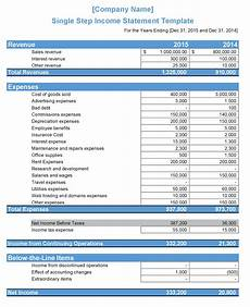 Create An Income Statement Income Statement Definition Types Templates Examples