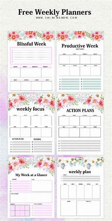 Weekly Monthly Planner Template Weekly Planner Template 15 Free Brilliant Designs