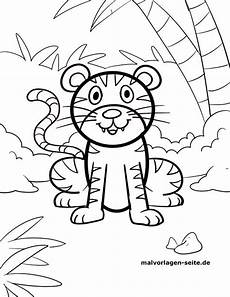 Malvorlagen Kleine Kinder Ausmalbild Tiger Kinder Ausmalbilder