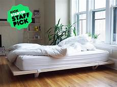 a minimal built to last bed frame for city living