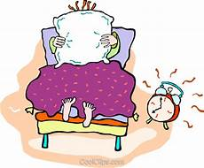 alarm clock going in the morning royalty free vector