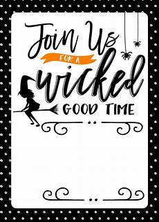 Free Printable Halloween Party Invitations For Adults Free Halloween Party Printables Fun Loving Families