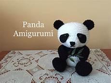 panda amigurumi tutorial knitt and crochet