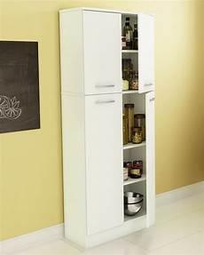 food pantry cabinet white doors storage kitchen