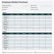 Timesheet Layout Free Printable Timesheet Templates Timesheet Template