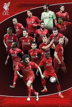 Liverpool Wallpaper Ebay by Liverpool Fc 2018 19 Season Players Poster Framed Cork Pin