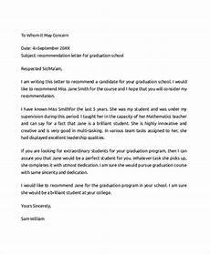 Letter Of Recommendation College Sample Free 7 Sample College Recommendation Letter Templates In