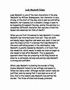 Macbeth Essay Conclusion Macbeth Essay Example How To Write A Macbeth Essay