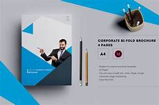 4 Pages Brochure Corporate Bi Fold Brochure 4 Pages Brochure Templates