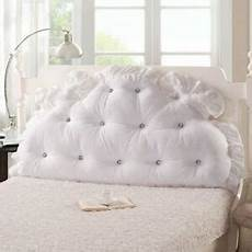 soft headboard support reading pillow for king