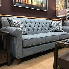 classic button tufted sofa fireside furniture