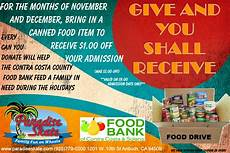 Can Food Drive Flyer Can Food Drive