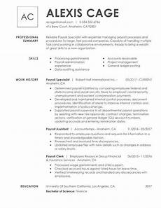 Career Overview Sample How To Write Your Resume Education Section My Perfect Resume