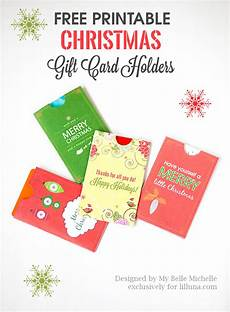 Free Printable Gift Cards Free Holiday Gift Card Holder Printables