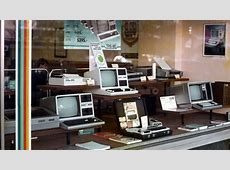 Inside Computer Stores of the 70s and 80s