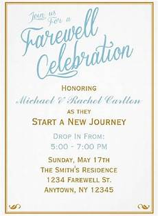 Invitation Card For Farewell Party To Seniors Farewell Party Invitation Wording For Seniors Farewell