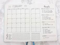 Journal Templates February Set Up Amp Template Kate Louise