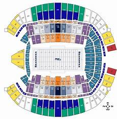Wicked Seattle Seating Chart Seating Charts Seattle Seahawks