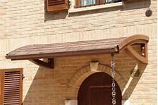 tettoie per porte d ingresso le pensiline in legno per la tua casa