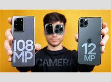 Galaxy S20 Ultra vs iPhone 11 Pro Max Camera Test