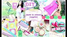 diy school supplies easy inexpensive