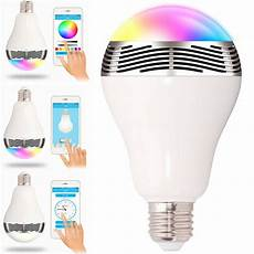 Medion Audio Led Light Bulb Speaker E27 Bluetooth Control Smart Music Audio Speaker Led Rgb