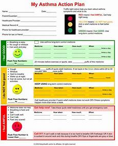 Allergy Chart For Child Care Do You Have An Asthma Action Plan Asthma Asthma Cure