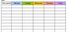 Teacher Weekly Schedule Template 8 Free Sample Audit Schedule Templates Printable Samples