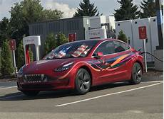 Red S Custom Design 10 Awesome Tesla Model 3 Paint Amp Wrap Jobs Cleantechnica