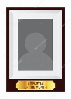 Moldura Funcionario Do Mes Empregado Do M 234 S Photo Frame Template Vetores De Stock
