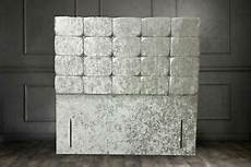 54 quot inch design diamonds headboard crushed velvet