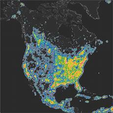 Light Pollution Map Iceland New Atlas Shows Extent Of Light Pollution What Does It