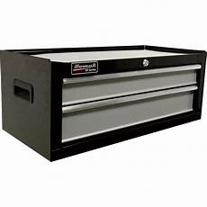 homak se series 27in 2 drawer middle tool chest black