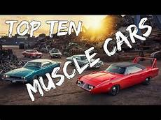 top 10 best muscle cars on gran turismo 6 hsg select