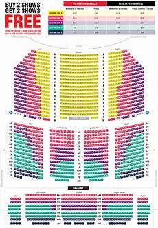 Asolo Seating Chart Broadway Seating Map Paramount Theatre