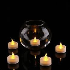 A Tea Light 24pcs Led Tea Light Candle With Yellow Light Xiamen