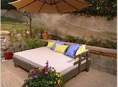Build an Outdoor Daybed HGTV